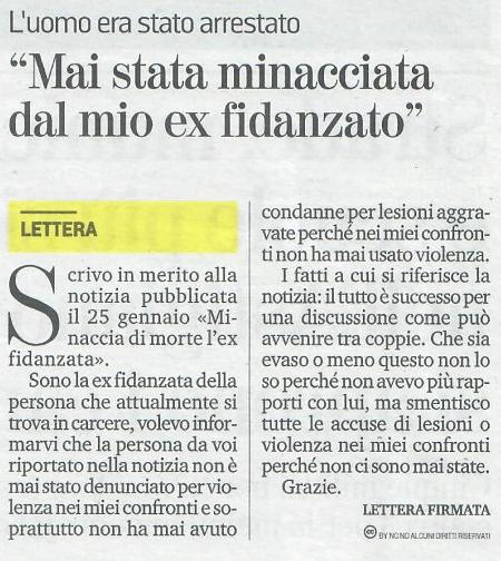 La Stampa 29.01.2019