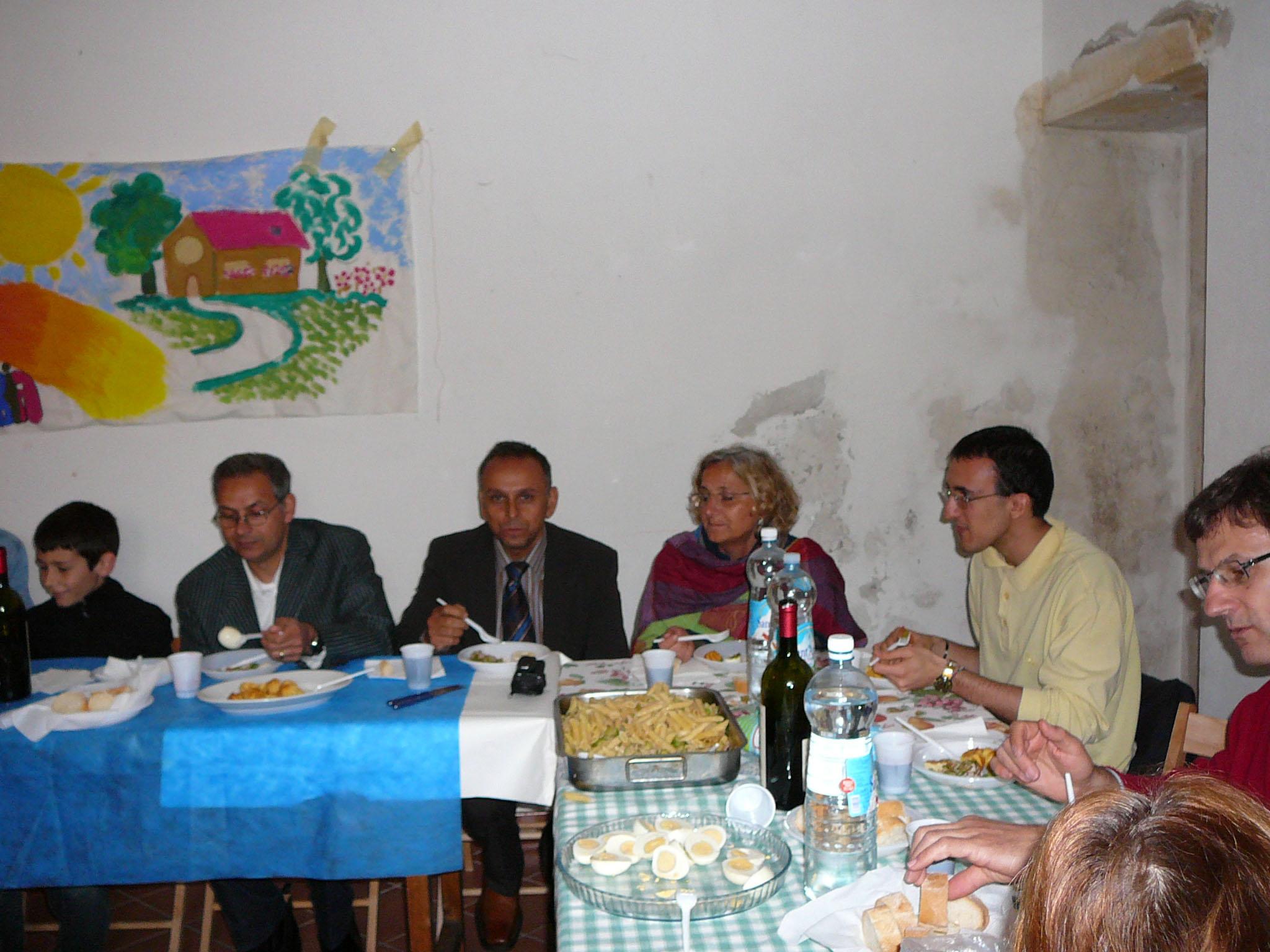 Pranzo solidale con Piero e Pasquale Campagna a Cascina Graziella