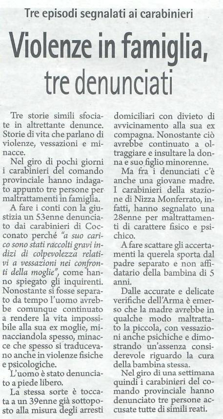 Gazzetta d'Asti 27.09.2019